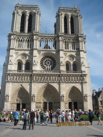 Cathedral de Notre Dame, Paris, France