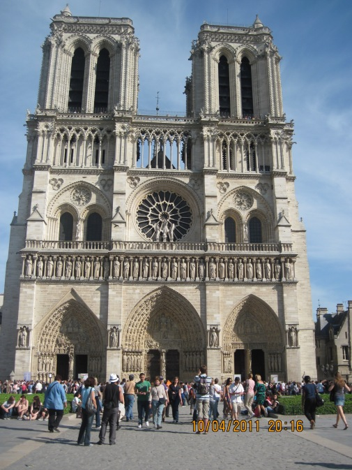 Cathedral de Notre Dame, Paris, France